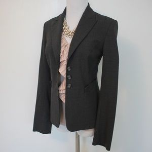 THE LIMITED Size 2 Gray Suit Jacket Blazer